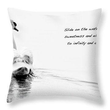 Sweetness And Elegance Throw Pillow