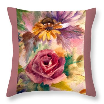 Sweetness Throw Pillow by Ellen Canfield