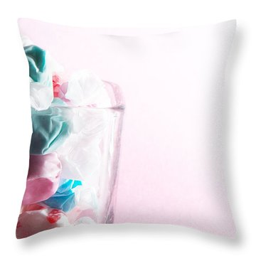 Throw Pillow featuring the photograph Sweetness by Lisa Knechtel