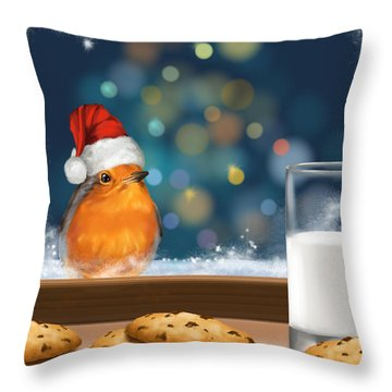 Sweetness Throw Pillow by Veronica Minozzi