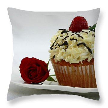 Sweets For My Sweetheart  Throw Pillow by Inspired Nature Photography Fine Art Photography