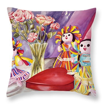 Sweets For The Sweet Throw Pillow