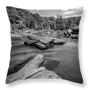 Sweetwater Creek II Throw Pillow
