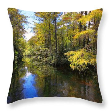 Sweetwater Strand - 3 Throw Pillow