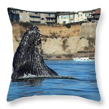 Swim Away Throw Pillow