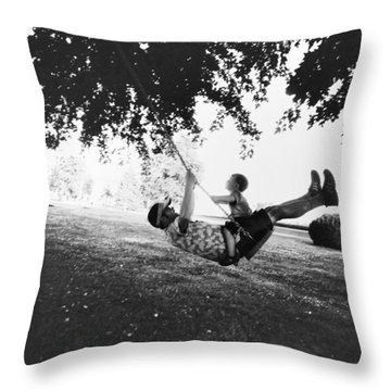 Swing High Sweet Chariot Throw Pillow