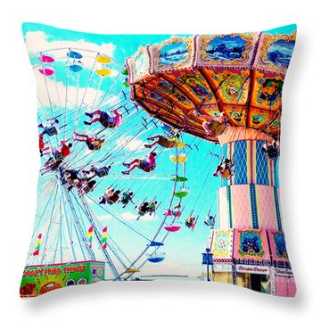 Swingers Have More Fun Throw Pillow