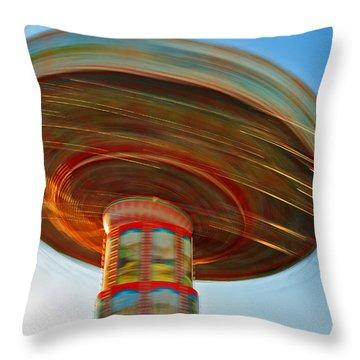 Swingin' @ Pavilion/broadway Throw Pillow