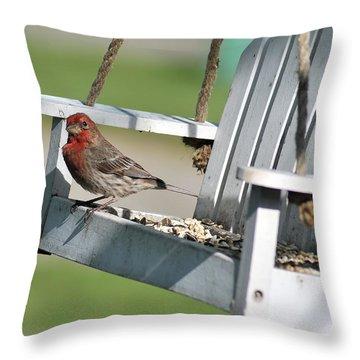 Swingin' Throw Pillow