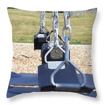 Swings Throw Pillow