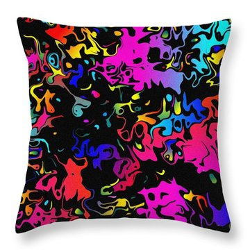 Throw Pillow featuring the photograph Swirl by Mark Blauhoefer