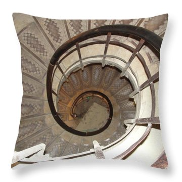 Throw Pillow featuring the photograph Swirls by Tiffany Erdman