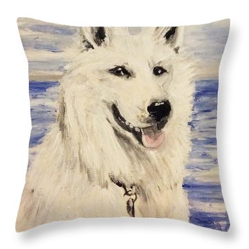 Swiss Shepherd Throw Pillow
