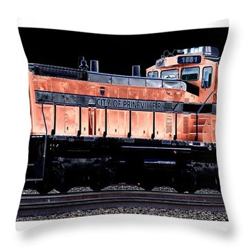 Switch Engine Throw Pillow