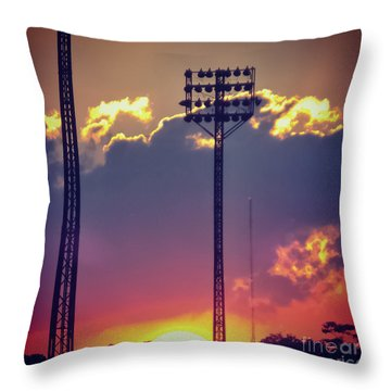 Switching Shifts Throw Pillow