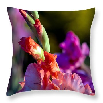 Sword Lily 3 Throw Pillow