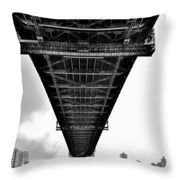 Sydney Bridge 2 - Sydney - Australia Throw Pillow