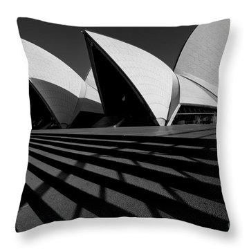 Sydney Opera House 02 Throw Pillow