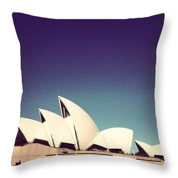 Sydney Opera House Throw Pillow