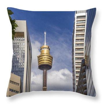 Sydney Tower Throw Pillow