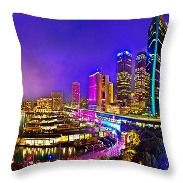 Sydney Opera House Throw Pillows
