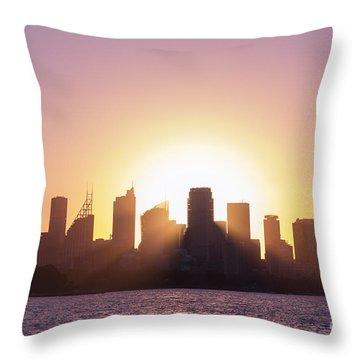 Sydney's Evening Throw Pillow