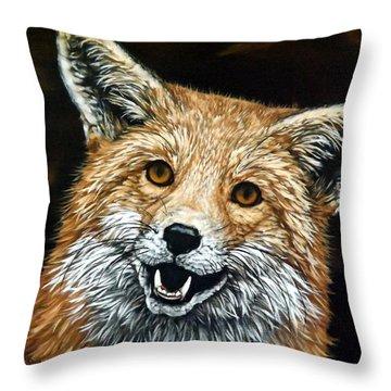 Sylar Throw Pillow by Linda Becker