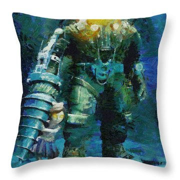 Symbiosis Throw Pillow by Joe Misrasi