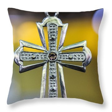 Symbol Of Faith Throw Pillow
