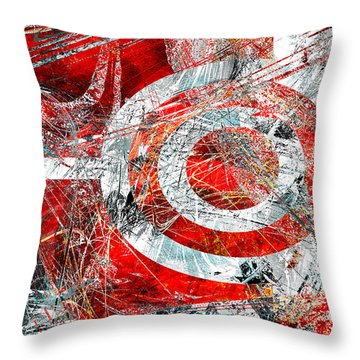 Throw Pillow featuring the digital art Symmetry by Fine Art By Andrew David