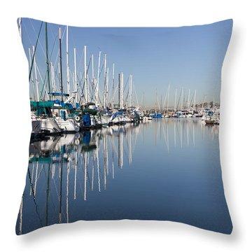Symmetry Throw Pillow by Heidi Smith