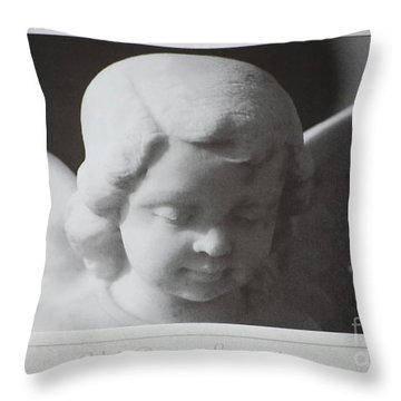 Sympathy      Angel Throw Pillow
