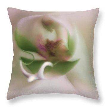 Symphony Of Elegance Throw Pillow by Mary Lou Chmura