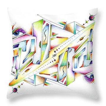 Symplexity Throw Pillow
