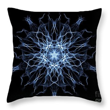 Synchronised Swimmers Throw Pillow