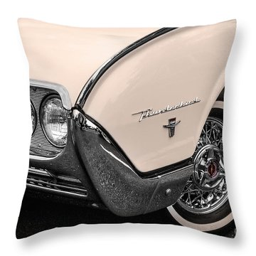 T-bird Fender Throw Pillow