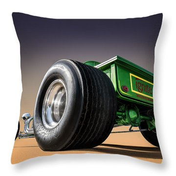 T Bucket Throw Pillow by Douglas Pittman
