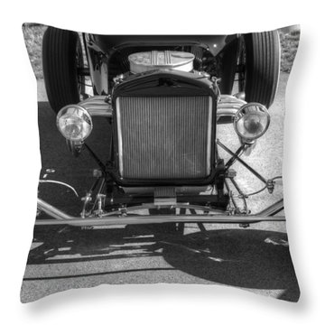 Throw Pillow featuring the photograph T-bucket by Michael Colgate
