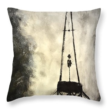 T. D. Throw Pillow