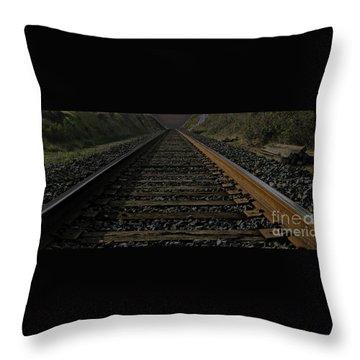 T Rails Throw Pillow