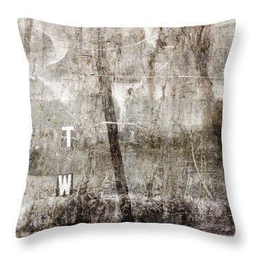 T W Throw Pillow