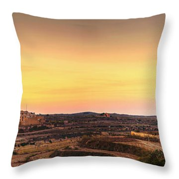 Ta Pinu And Gharb Throw Pillow