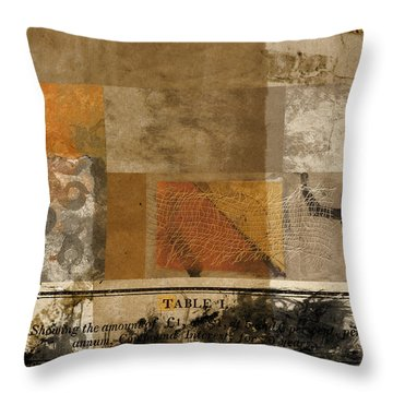 Color Chart Throw Pillows