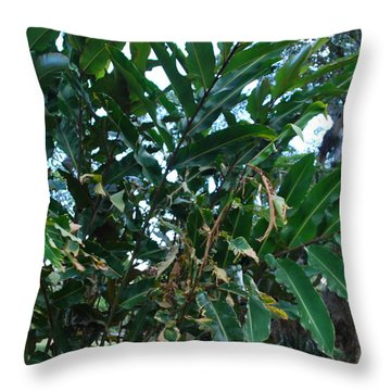 tac Throw Pillow