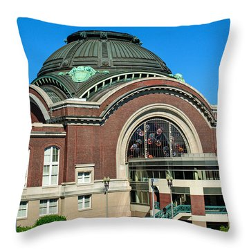 Tacoma Court House At Union Station Throw Pillow