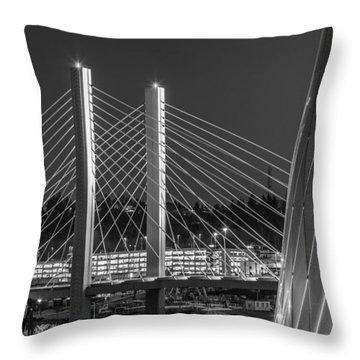 Tacoma Smelter Throw Pillow