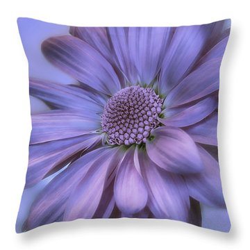 Taffeta And Pearls Throw Pillow