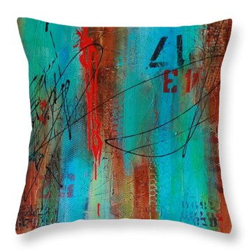Tagged #2 Throw Pillow
