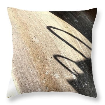 Heavy Wheel Throw Pillow