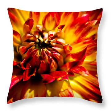 Tahiti Sunrise Throw Pillow